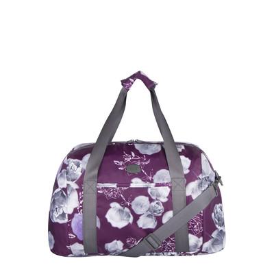 Elle Purple Print Yoga Bag with backstrap for Yoga mat