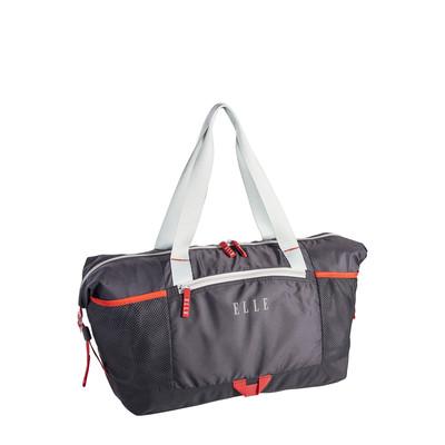 Elle Grey Sports Duffle Bag