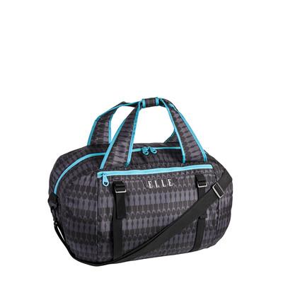 Elle Black and Turquoise Yoga Bag