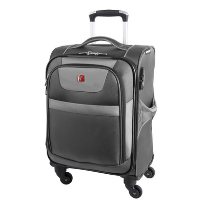 """Swiss Gear Neolite II 20"""" Expandable Spinner Luggage"""