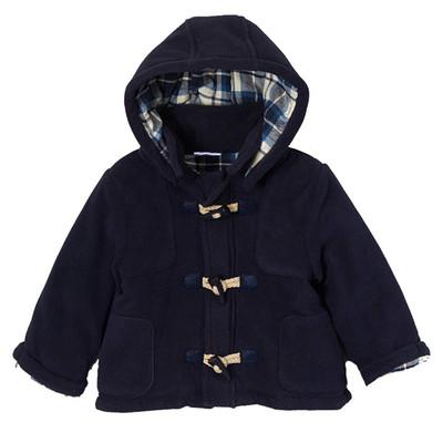 Infant Micro Polar Fleece Toggle Jacket - Navy