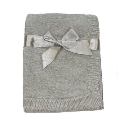 Cotton Knit Blanket