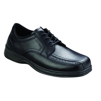Orthopedic Footwear - Ortho Feet Men's Lace Comfort Gramercy Black