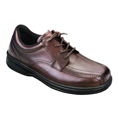 Orthopedic Footwear - Ortho Feet Men's Lace Comfort Gramercy Brown
