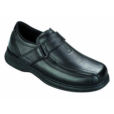 Orthopedic Footwear - Ortho Feet Men's Strap Lincoln Centre Comfort Black