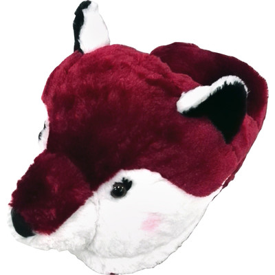 Massage Slipper Cute Cuddly Sly Fox