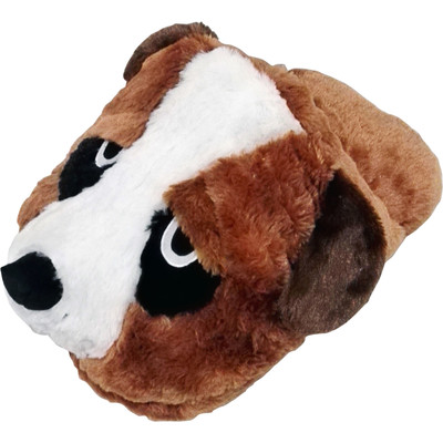 Massage Slipper Cute Cuddly Old Faithful Saint Bernard