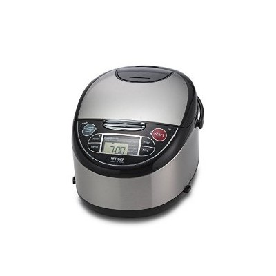 Tiger JAX-T10U-K 5.5-Cup (Uncooked) Micom Rice Cooker with Food Steamer & Slow Cooker