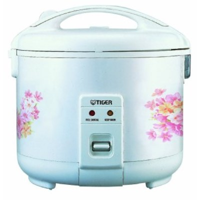 Tiger JNP-0550-FL 3-Cup (Uncooked) Rice Cooker and Warmer