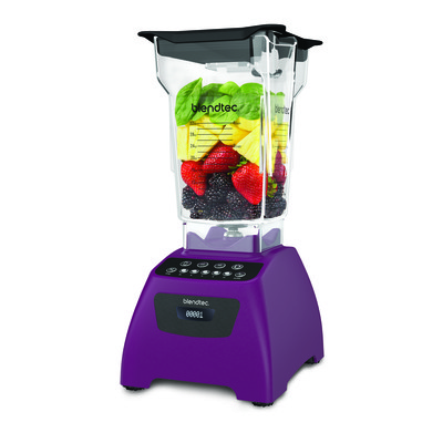 Blendtec Classic 575 Blender with Wildside and Fourside Jars and Cook'n Recipe Organizer