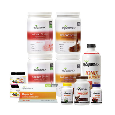 30 Day Cleansing and Fat Burning program with IsaDelight Plus