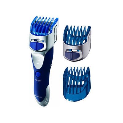 Panasonic Beard Trimmer, Hair Clipper, Men's, Cordless with Wet/Dry Convenience, Adjustable Trim Settings