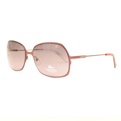 Lacoste L118S Sunglasses in SATIN RED