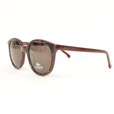 Lacoste L601S Sunglasses in HAVANA/WINE