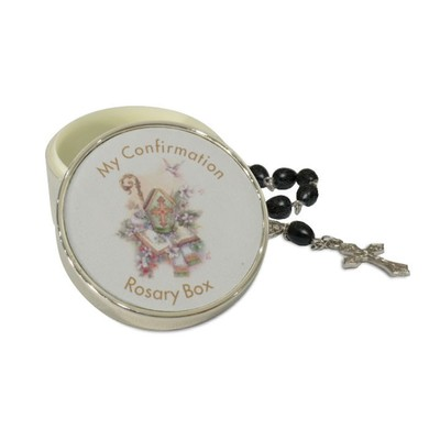 Confirmation Rosary Box with Rosary