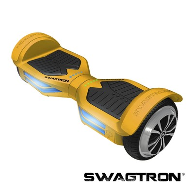 SWAGTRON T3 Self Balancing Electric Scooter with Bluetooth, Gold (89717-8)