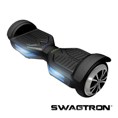 SWAGTRON T3 Self Balancing Electric Scooter with Bluetooth, Black (89717-2)