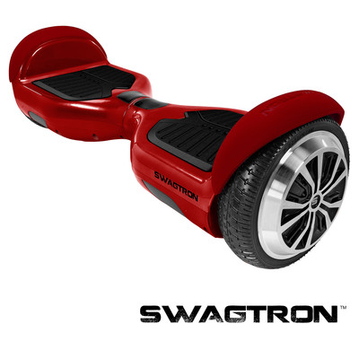 SWAGTRON T1 Self Balancing Electric Scooter, Garnet (Red) (88570-6)
