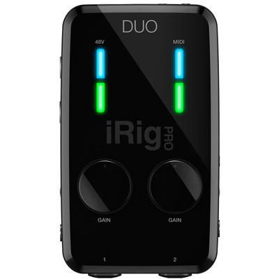 IK Multimedia iRig Pro DUO USB Audio Interface - IK Multimedia - IP-IRIG-PRODUO-IN