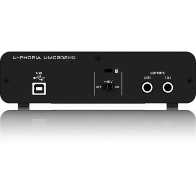 Behringer U-PHORIA UMC202HD Audio Interface - Behringer - UMC202HD