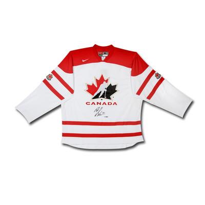 Brayden Schenn Autographed Team Canada Nike Replica White Jersey  - Limited to 10