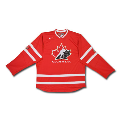 """Brayden Schenn Inscribed """"8G, 10 AST 2011 WJHC"""" Team Canada Nike Red Jersey  - Limited to 10"""