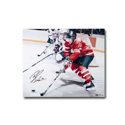 Brayden Schenn Autographed Team Canada 24x20 Photo