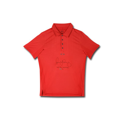 """Rory McIlroy Autographed and Inscribed """"2012 PGA Champ"""" Oakley Red Polo  - Limited to 25"""