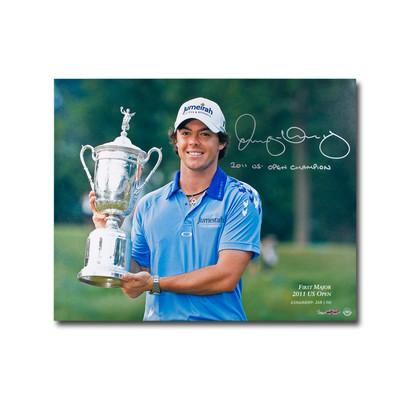 """Rory McIlroy Signed and Inscribed """"2011 US Open Champ"""" First Major 16x20  - Limited to 250"""