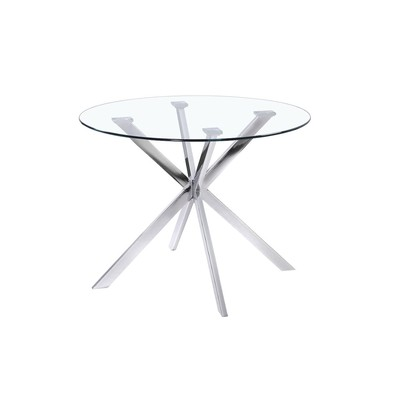 Drake Dining Table - with Chrome Base