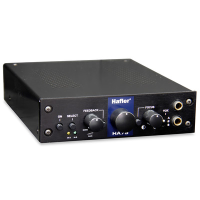 Halfer HA75 Tube Head Headphone Amplifier - Hafler - H400-0075