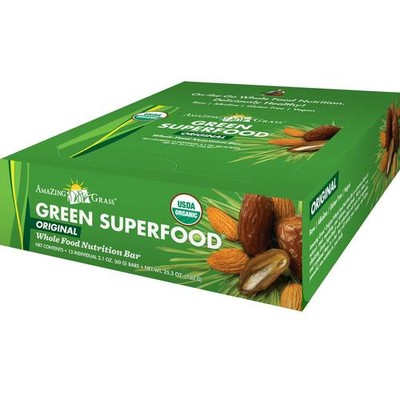 Amazing Grass Green SuperFood Original Bars