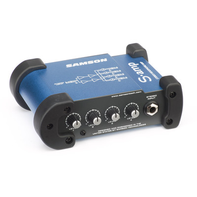 Samson S-amp Mini Stereo Headphone Amplifier - Samson - S-AMP