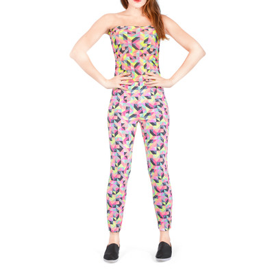 Bluberry women's Jump suit-carnival