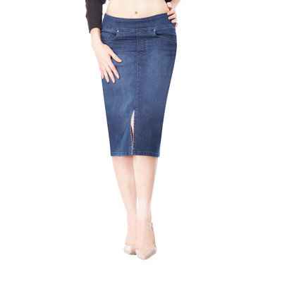 Bluberry women's Nicole mediu wash denim skirt