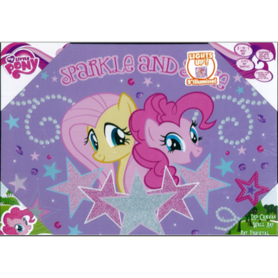 My Little Pony Sparkle and Shine Led Canvas Art