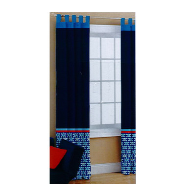 Heritage Kids Pirates One Curtain Panel (Set of 2)