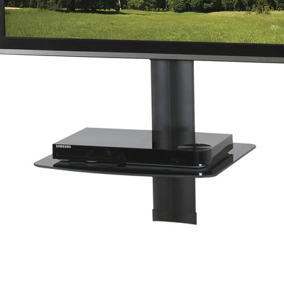Kanto AVS1 AV Component Wall Shelf - Single (800152712376)