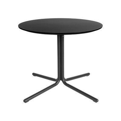 Kanto GRACE End Table with Black Legs (Black)
