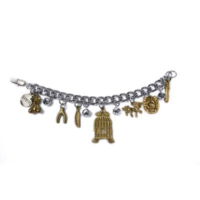"""""""The Dreamer"""" charm bracelet - gold"""