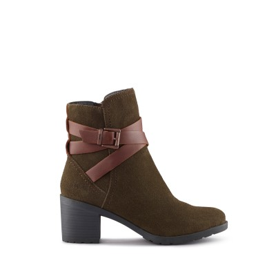 Cougar Women's Arvida Ankle Boot in Olive