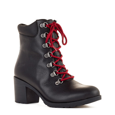 Women's Cougar 'Angie' Leather Boot in Black