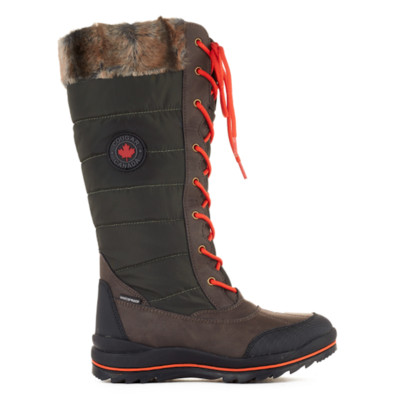 Women's Cougar 'Chateau' Visage Winter Boot in Khaki