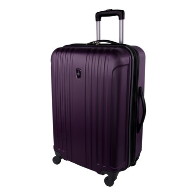 """Atlantic Necessity Lite Collection 24"""" Expandable Purple Spinner Upright"""