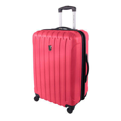 """Atlantic Necessity Collection 24"""" Expandable Dark Pink Spinner Upright"""