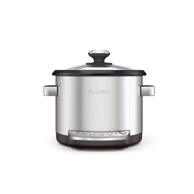Breville BRC600XLREF Risotto + Sauteing Slow Rice Cooker and Steamer