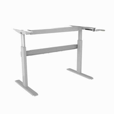 TygerClaw Cranked Sit-Stand Desk Frame TYDS14012