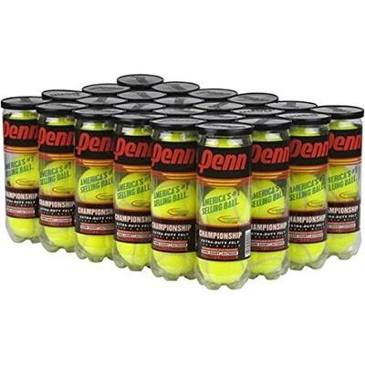 Penn Championship Extra Duty Tennis Balls - 24 Can Case/72 balls by Penn