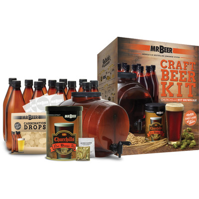 Churchills Nut Brown Ale Complete Craft Kit