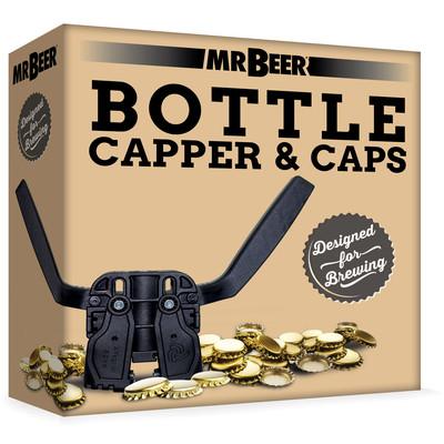 Mr Beer Bottle Capper with 75 caps